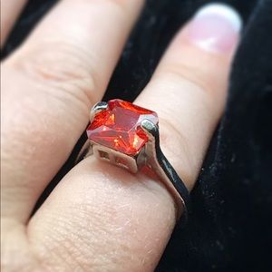 Lovely Square Cut Ring